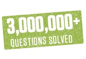 3 Million+ Questions Solved