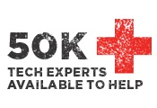 50K Tech Experts available to help
