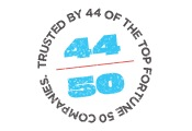 Trusted by 44 of the Top Fortune 50 Companies.